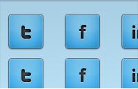 Link toBlue social media icons psd