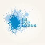 Link toBlue splash background vector