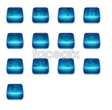 Link toBlue squares logo icon
