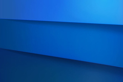 Link toBlue stacked paper background vector