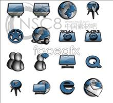 Link toBlue system desktop icons