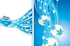 Link toBlue tone christmas vector