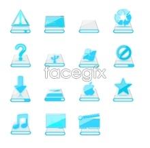 Link toBlue transparent icon