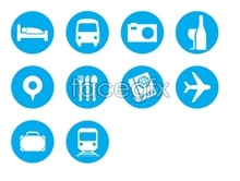Link toicons tool travel Blue