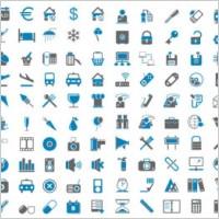 Link toBluegray simple icon vector