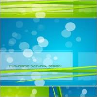 Link toBluegreen glare background vector