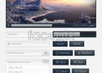 Link toBluepackt - free web elements