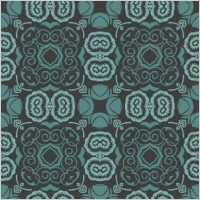 Link toBluish seamless floral wallpaper