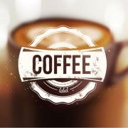 Link toBlurred coffee background graphic vector free
