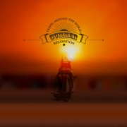 Link toBlurred sunset background with sailboat vector free
