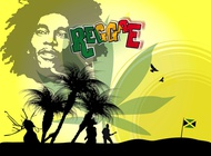 Link toBob marley poster vector free