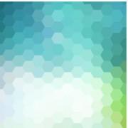 Bokeh honeycomb vector background free