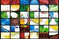 Link toBook cover design, china merchants manuals book cdr template vector (36)