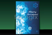 Book cover for christmas vector graphics five