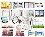 Link toBook of office supplies psd