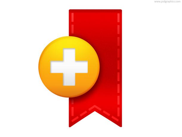 Link toBookmark icon (psd)