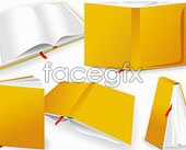 Link toBooks placed vector
