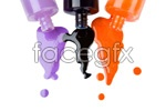 Link toBottle of nail polish psd