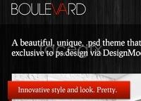 Link toBoulevard full web layout