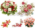 Link toBouquets of roses vector