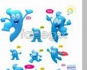 Link toBoutique 2010 shanghai expo mascot haibao blue psd