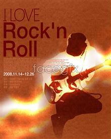 Link toBoutique music theme poster psd
