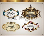 Link toBow lace border vector