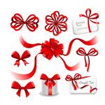 Link toBow ribbon flower vector