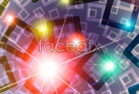 Link toBox color intensive glare background vector