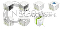 Link toBox design desktop icons