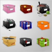 Link toBoxes icons 2 icons pack