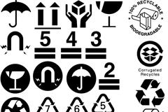 Link toBoxes-pictorial design vector