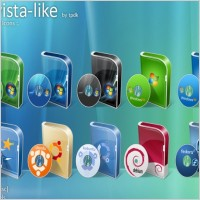 Link toBoxes vista-like icons icons pack