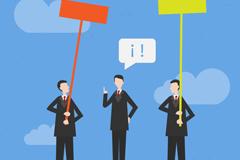 Link toBrand of business-men illustrator vector