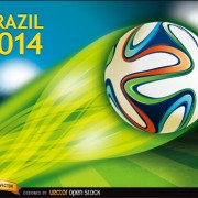 Link toBrazil 2014 soccer championship background vector 02 free