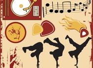 Link toBreakdance poster graphics vector free