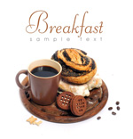 Breakfast food psd