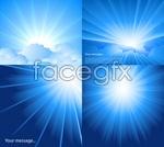 Link toBright blue sky vector