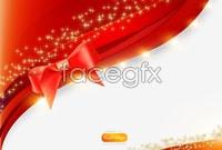 Link toBright festive ribbon background vector