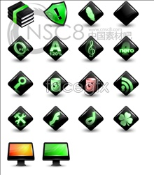 Link toBright fluorescent series icons