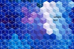 Link toBright geometric background vector