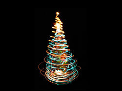 Link toBright glow christmas tree 04-hd pictures