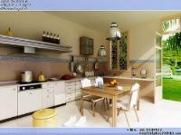 Link toBright kitchen restaurant 3d model
