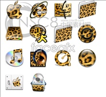 Link toBright leopard system icons