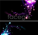Link toBright light effect background vector