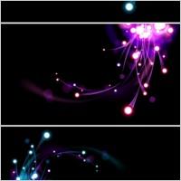 Link toBright light effect background