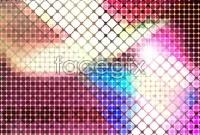 Link toBright mosaic design background vector