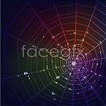 Link tovector web spider neon Bright