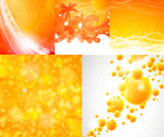 Link toBright orange background vector