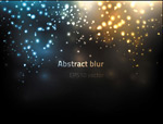 Bright points of light background vector
